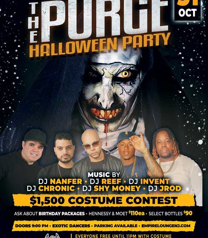Halloween Party At Empire Lounge